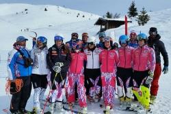 Equipe de France Féminine de Ski Alpin à La Rosière