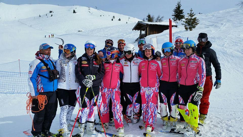 equipe de france f minine de ski alpin la rosi re ski club la rosi re. Black Bedroom Furniture Sets. Home Design Ideas